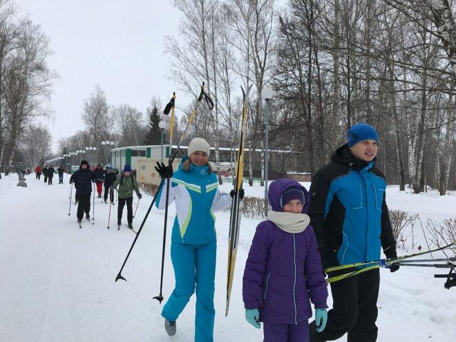 Лыжня с ФБКК 2017г