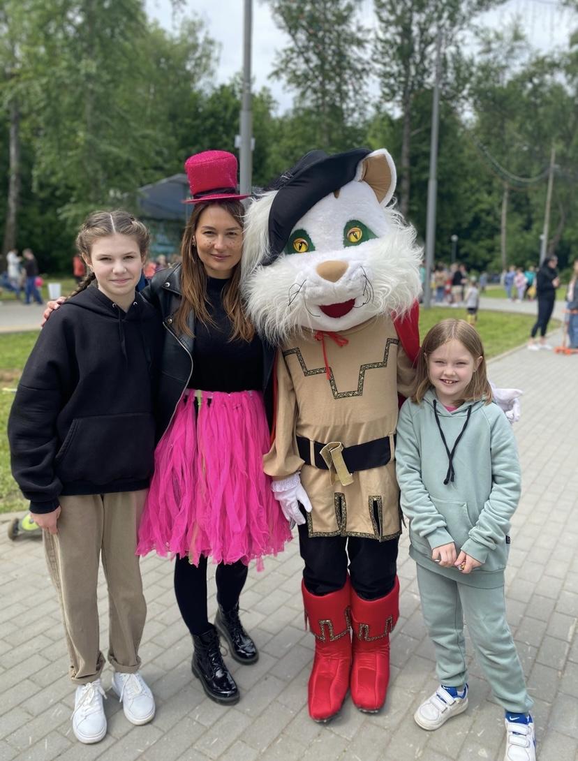 День защиты детей в городском парке!